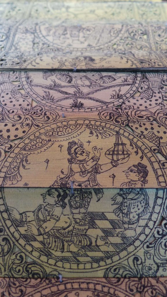 Krishna stealing Butter with friends- The Makhanchor