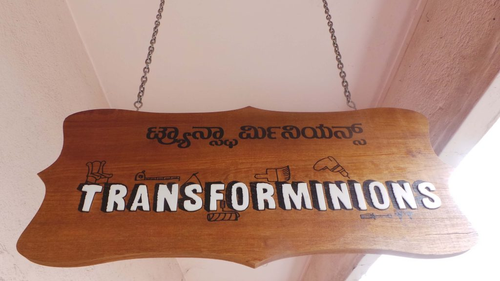 Transforminions, Preethi Prabhus design studio