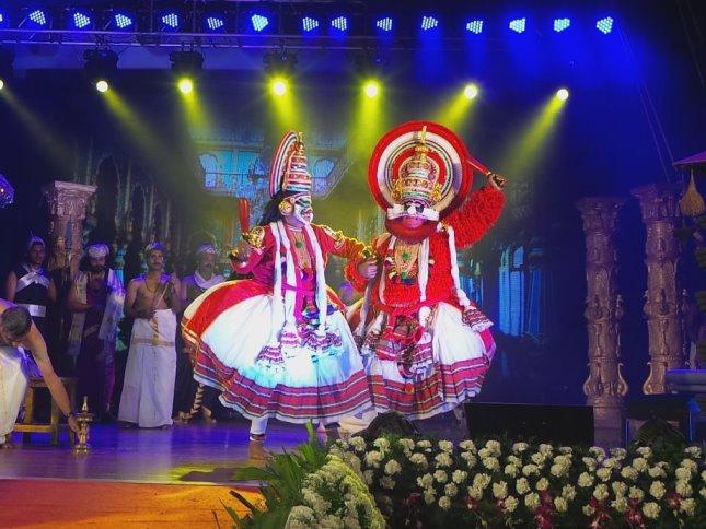 Kathakali- Dussasana Vadham