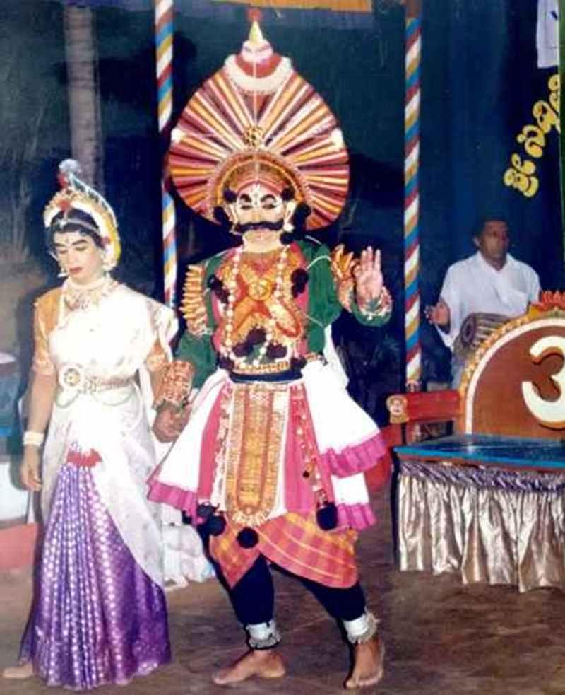 Banashankari love story in Yakshagana