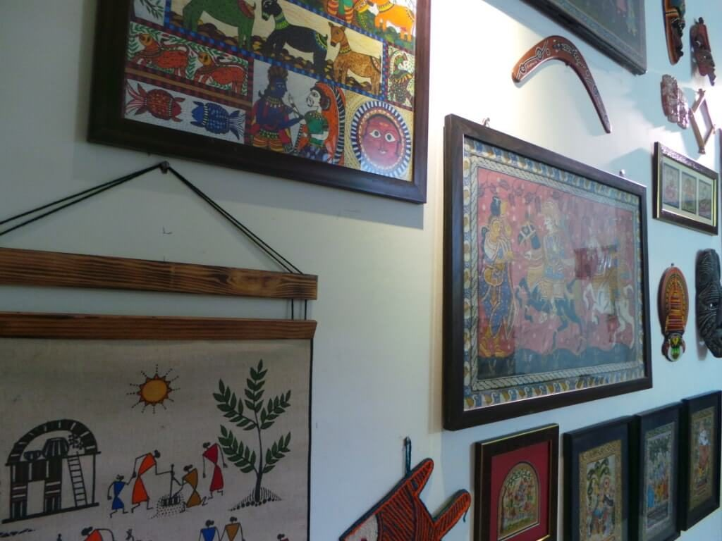 Gallery wall for Diwali