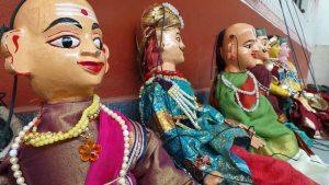 The Puppet show by Rangaputhali at Sankalpa