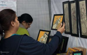 Madhubani by Vidushini Prasad at A Hundred Hands annual collective
