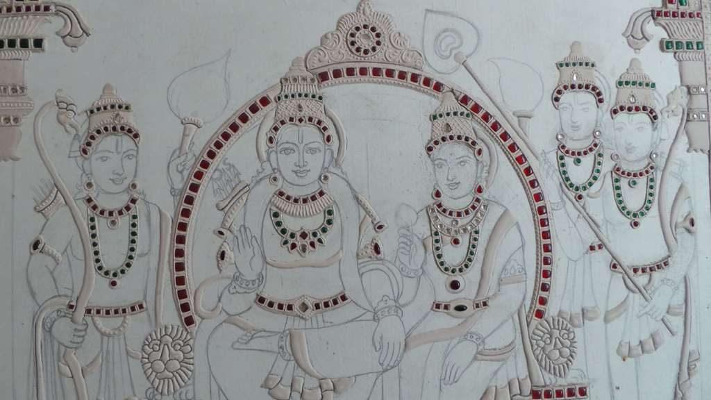 Tanjore Art by D Sreenivas