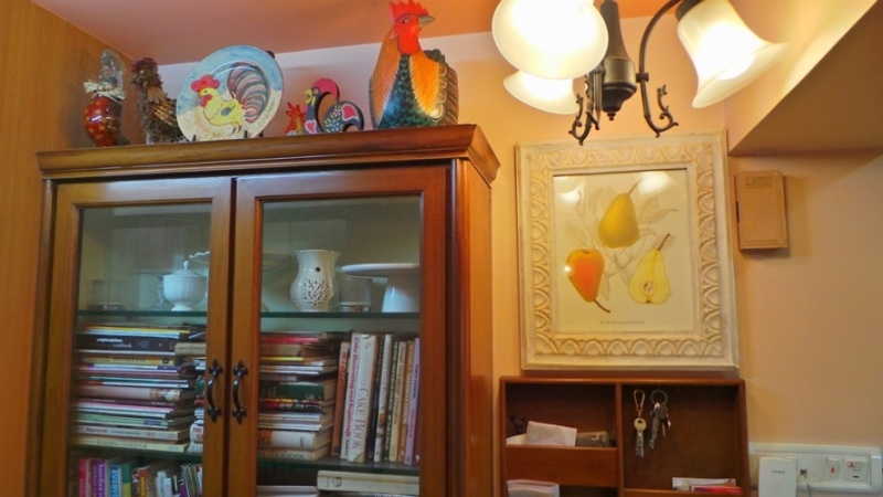 Koppikers Mumbai Home Kitchen entrance Rooster collection Kitchen ambience