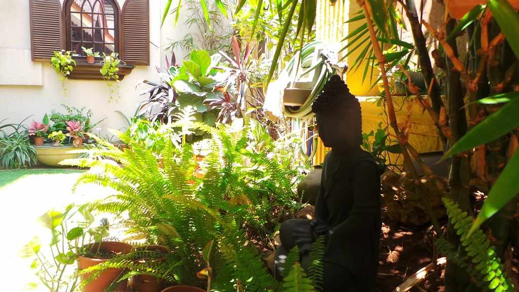 Koppikers Mumbai Home Buddha in the garden Vintage vibes