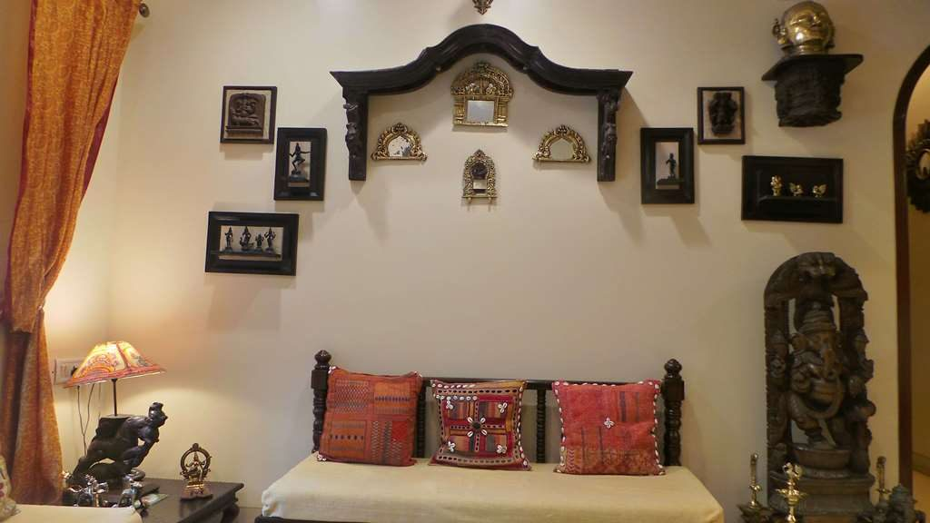 Koppikers Mumbai home Prabhavalis in decor Beautiful Indian home